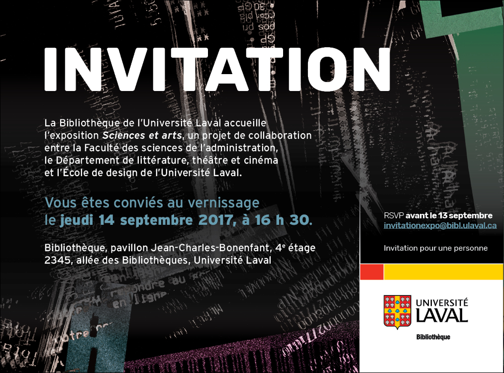 Invitation_Sciences et arts