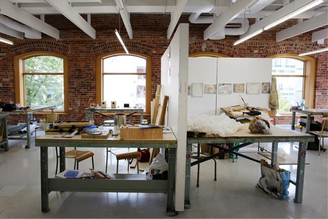 Atelier de création en art