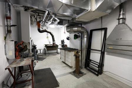 Atelier de métal