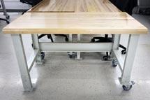 Mobilier pour atelier de conception en design de produits