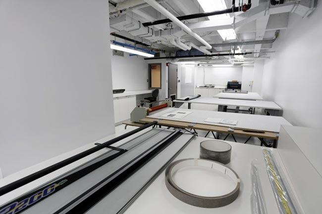 Nouvelle salle de montage et finition